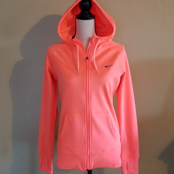 c123462d6 Nike Jackets & Coats | All Time Fleece Thermafit Full Zip Hoodie ...